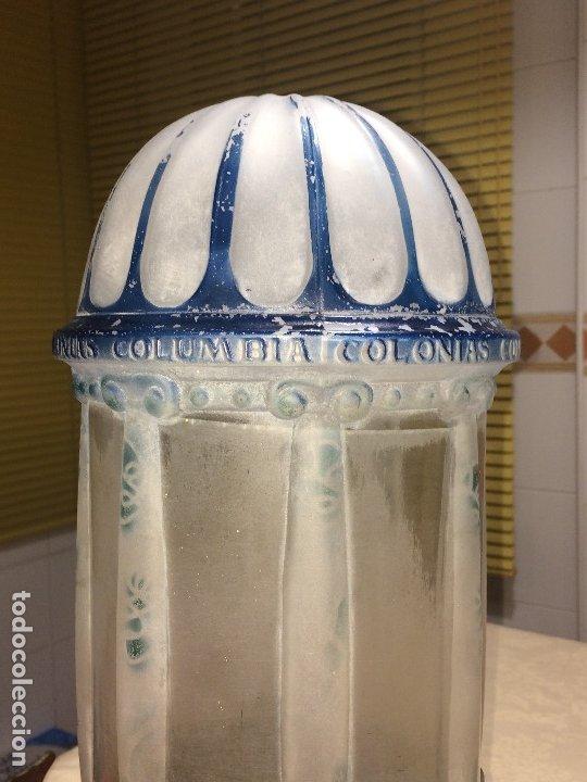 Miniaturas de perfumes antiguos: DISPENSADOR DE COLONIAS - MODERNISTA - AÑOS 20 - COLONIAS COLUMBIA - UNOS 15 LITROS . ¡¡¡ ÚNICO !!! - Foto 6 - 183207680
