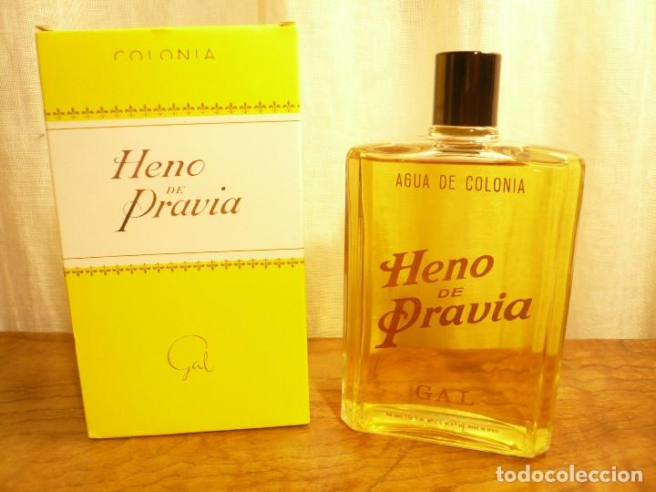 HENO DE PRAVIA AGUA DE COLONIA. NUEVA EN SU CAJA. 7 1/2 FL. 0Z 80º Nº 147 (Coleccionismo - Miniaturas de Perfumes)