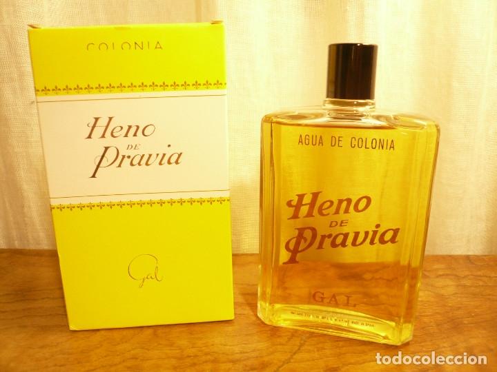 Miniaturas de perfumes antiguos: HENO DE PRAVIA AGUA DE COLONIA. NUEVA EN SU CAJA. 7 1/2 FL. 0Z 80º Nº 147 - Foto 3 - 183338083