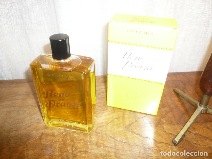 Miniaturas de perfumes antiguos: HENO DE PRAVIA AGUA DE COLONIA. NUEVA EN SU CAJA. 7 1/2 FL. 0Z 80º Nº 147 - Foto 4 - 183338083