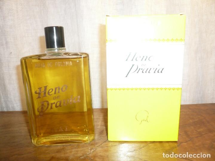 Miniaturas de perfumes antiguos: HENO DE PRAVIA AGUA DE COLONIA. NUEVA EN SU CAJA. 7 1/2 FL. 0Z 80º Nº 147 - Foto 5 - 183338083