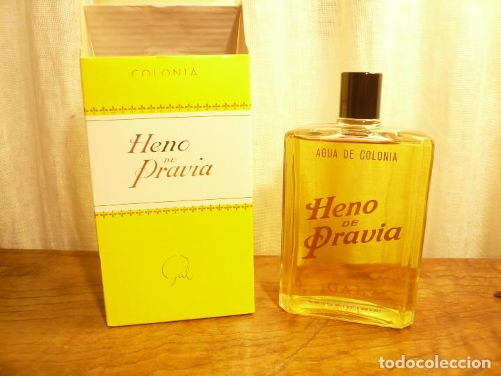 Miniaturas de perfumes antiguos: HENO DE PRAVIA AGUA DE COLONIA. NUEVA EN SU CAJA. 7 1/2 FL. 0Z 80º Nº 147 - Foto 10 - 183338083