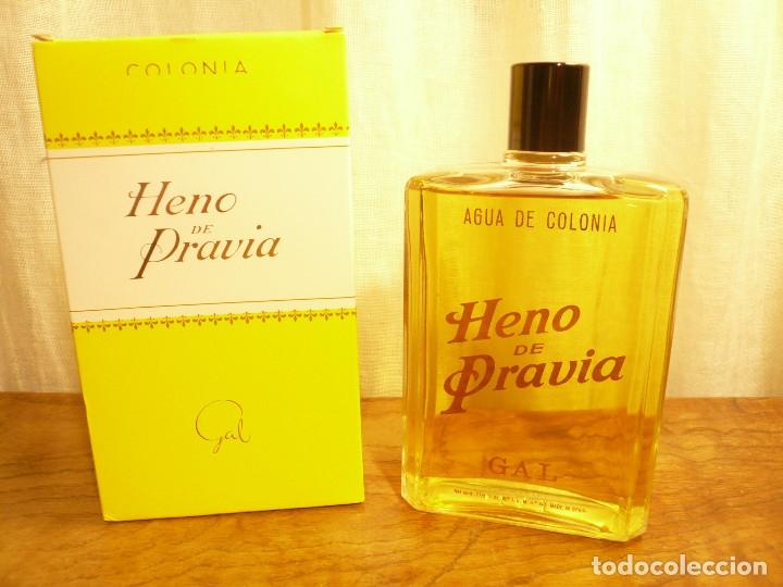 Miniaturas de perfumes antiguos: HENO DE PRAVIA AGUA DE COLONIA. NUEVA EN SU CAJA. 7 1/2 FL. 0Z 80º Nº 147 - Foto 11 - 183338083