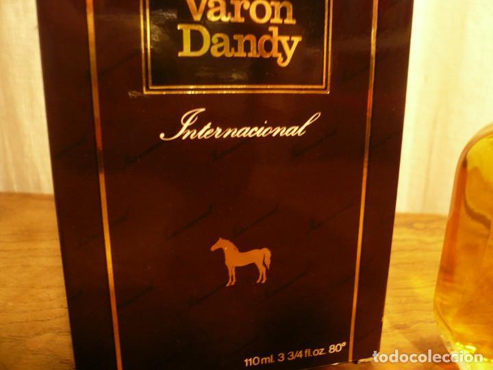 Miniaturas de perfumes antiguos: COLONIA VARON DANDY INTERNACIONAL. FRASCO LLENO, EN SU CAJA. 110 ML - Foto 8 - 183438266