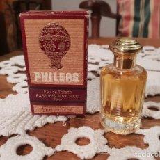 Miniaturas de perfumes antiguos: PHILEAS, MUESTRA DE NINA RICCI POUR HOMME.. Lote 183498245