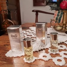 Miniaturas de perfumes antiguos: DUO FEMININE Y MASCULINE D&G. Lote 183531031