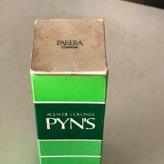 Miniaturas de perfumes antiguos: AGUA DE COLONIA PYN'S.PARERA. Lote 183541497