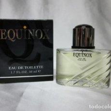 Miniaturas de perfumes antiguos: EQUINOX, AFTER SHAVE. Lote 183616080