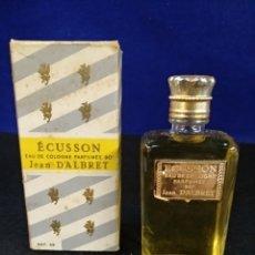Miniaturas de perfumes antiguos: ECUSSON EAU DE COLOGNE PERFUME, JEAN D'ALBRET. Lote 183827151
