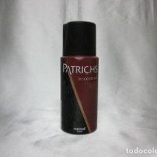 Miniaturas de perfumes antiguos: PATRICH, DESODORANTE. Lote 183866415