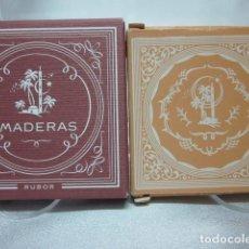 Miniaturas de perfumes antiguos: MADERAS DE ORIENTE, COLORETE, RUBOR. Lote 183868326