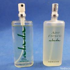 Miniaturas de perfumes antiguos: LOTE ALADA Y AIRE FRESCO DE ALADA , MYRURGIA,VAPO 60ML. Lote 183934392