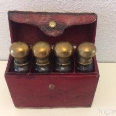 Miniaturas de perfumes antiguos: CAJA PERFUMEROS. Lote 184182258