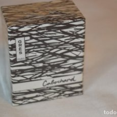 Miniaturas de perfumes antiguos: GRÈS CABORCHARD - VINTAGE / PERFUME - ESTUCHE ORIGINAL PRECINTADO, NUEVO - REF. 108 - 1/4 FL. OZ.. Lote 184214586
