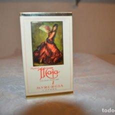 Miniaturas de perfumes antiguos: VINTAGE - PRECINTADA - IRREPETIBLE - COLONIA PERFUME DE MYRURGIA -- MAJA -- AUTÉNTICA JOYA ¡MIRA!. Lote 184344015