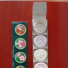 Miniaturas de perfumes antiguos: JABON DE LUJO PUIG. Lote 184350741
