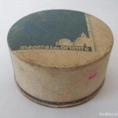 Échantillons de parfums anciens: CAJA POLVOS MADERA DE ORIENTE MYRURGIA. Lote 184419296