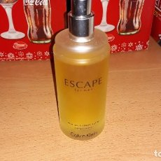 Miniaturas de perfumes antiguos: ESCAPE FOR MEN CALVIN KLEIN 100 ML.. Lote 185923057