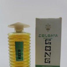 Miniaturas de perfumes antiguos: COLONIA PERFUME GONG. MEDIADOS S.XX. 7 FL. . Lote 186416061