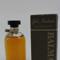 Miniaturas de perfumes antiguos: EAU DE TOILETTE JOLIE MADAME . BALMAIN. MEDIADOS S.XX. . Lote 186417363