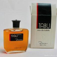 Miniaturas de perfumes antiguos: EAU DE TOILETTE TABU. DANA. 90 ML. 1998. . Lote 187090025