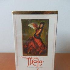 Miniaturas de perfumes antiguos: ANTIGUA COLONIA PERFUME MAJA DE MYRURGIA ESPAÑA DE 50 ML.. Lote 187488848