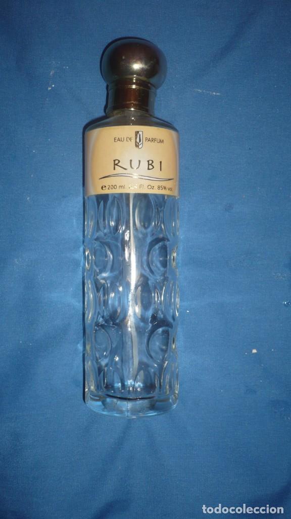 FRASCO PERFUME RUBI EAU DE PARFUM (VACIO) (Coleccionismo - Miniaturas de Perfumes)