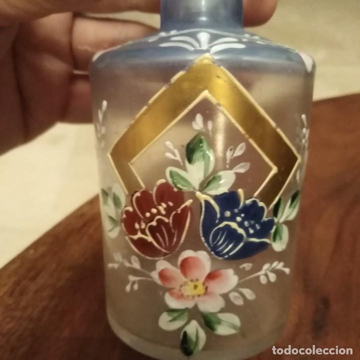Miniaturas de perfumes antiguos: Antiguo frasco de permufe Art Deco - Foto 2 - 189642863