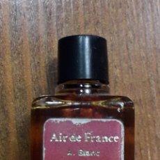 Miniaturas de perfumes antiguos: MINIATURA VINTAGE DE PERFUME AIR DE FRANCE A.BLANC. Lote 189826938