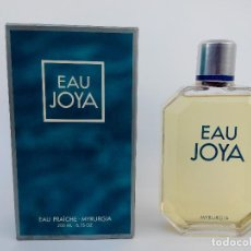 Miniaturas de perfumes antiguos: COLONIA EAU JOYA 200 ML - MYRURGIA - A ESTRENAR. Lote 189962940