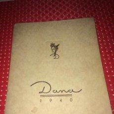 Échantillons de parfums anciens: DANA - TARIFA CATÁLOGO - AÑO 1940 - BARCELONA Y SAN SEBASTIAN. Lote 190548312