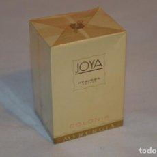 Échantillons de parfums anciens: ANTIGUO FRASCO COLONIA - JOYA MYRURGIA - NUEVA Y EN CAJA - MADE IN SPAIN - ¡¡¡PRECINTADA!!! PERFECTA. Lote 190814292