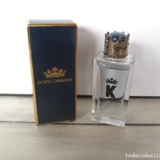 Échantillons de parfums anciens: MINIATURA K DE DOLCE & GABBANA EDT 7.5ML. . Lote 191708508
