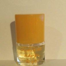 Miniaturas de perfumes antiguos: MINIATURA DE PERFUME HAPPY TO BE DE CLINIQUE VAPORIZADOR. Lote 203771971
