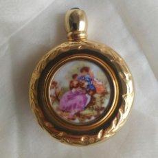 Miniaturas de perfumes antiguos: PERFUMERO PERFUMADOR DE LA MARCA RAFOR. MADE IN SPAIN. DORADO ORO. AÑOS 30. Lote 193772340