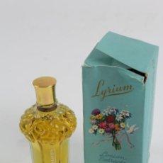 Miniaturas de perfumes antiguos: LYRIUM. LOCION EXTRACTO. COMPOSICIONES VERA. ESPAÑA. MEDIADOS S.XX.. Lote 193817117
