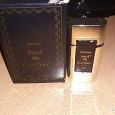 Miniaturas de perfumes antiguos: MUSK DE CARTIER 4 ML.MADE IN FRANCE. Lote 194238930