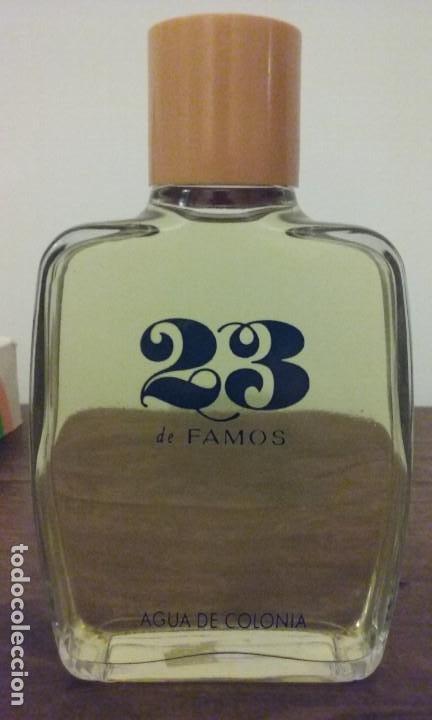 AGUA DE COLONIA 23 DE FAMOS. (SHATMO). NUEVA 200ML. (Coleccionismo - Miniaturas de Perfumes)