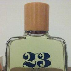 Miniaturas de perfumes antiguos: AGUA DE COLONIA 23 DE FAMOS. (SHATMO). NUEVA 200ML.. Lote 194239675