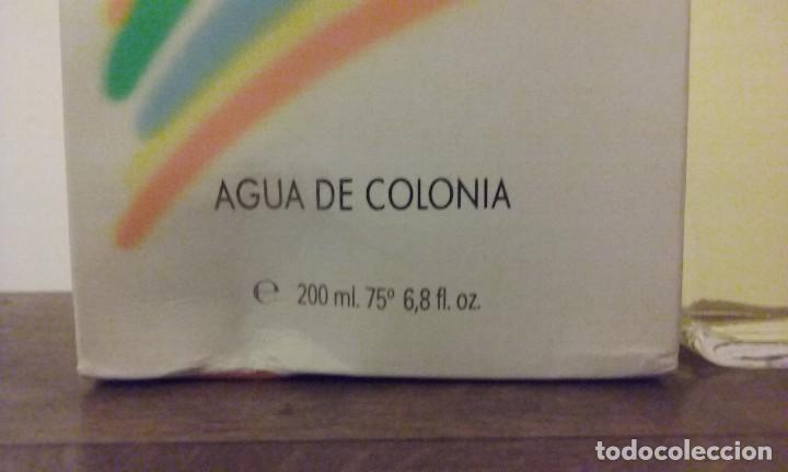 Miniaturas de perfumes antiguos: Agua de colonia 23 de Famos. (Shatmo). Nueva 200ml. - Foto 6 - 194239675