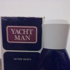 Miniaturas de perfumes antiguos: YACHT MAN DE MAS COSMETICS .MASAJE O AFTER SHAVE.100ML .. Lote 194241157