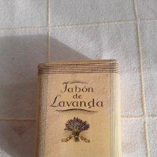 Miniaturas de perfumes antiguos: JABON LAVANDA DE MYRURGIA. Lote 194366753