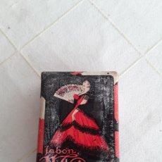 Miniaturas de perfumes antiguos: ANTIGUA PASTILLA DE JABON MAJA DE MYRURGIA. Lote 194370928
