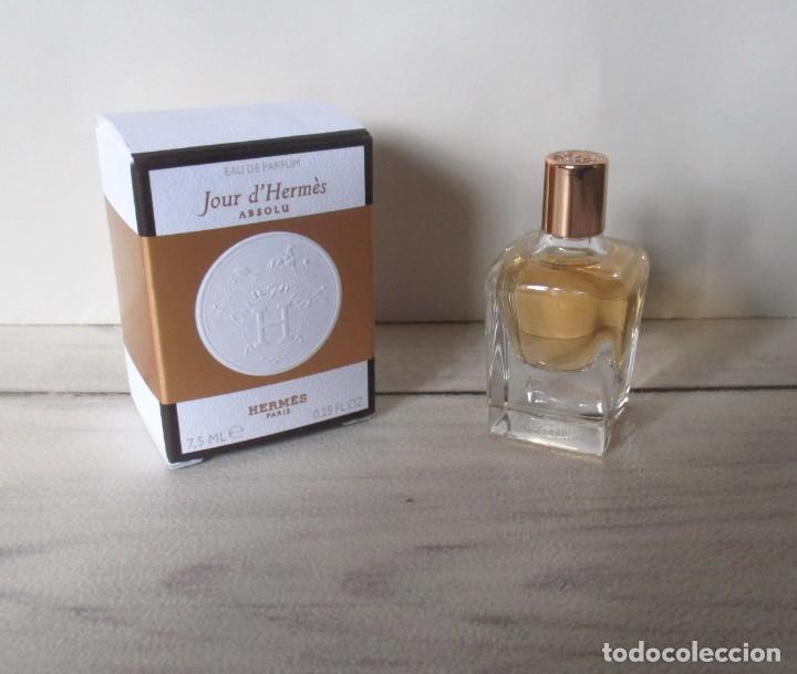 MINIATURE JOUR D'HERMES ABSOLU, EAU DE PARFUM 7.5ML. (Coleccionismo - Miniaturas de Perfumes)
