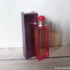 Miniaturas de perfumes antiguos: MINIATURA GLORIA DE CACHAREL EDT 7ML . DESCATALOGADA. Lote 194590927