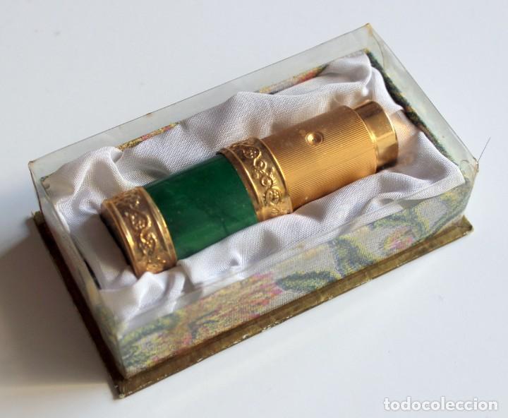 PERFUMERO VACIO MYRNA PONS - ALTA COSMETICA AÑOS 60 - CON CAJA ORIGINAL (Coleccionismo - Miniaturas de Perfumes)