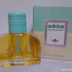 Miniaturas de perfumes antiguos: COLONIA ADIDAS WOMAN 50 ML - VINTAGE.. Lote 194680245