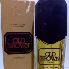 Miniaturas de perfumes antiguos: COLONIA OLD BROWN- PARERA. 125 ML VAPORIZADOR. Lote 194686488
