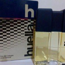 Miniaturas de perfumes antiguos: COLONIA HUELLA - EGREMA. 100 ML.. Lote 194687877