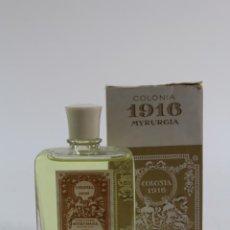 Miniaturas de perfumes antiguos: COLONIA 1916. MYRURGIA. BARCELONA. MEDIADOS S.X.X . Lote 194691723